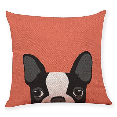 (Yvelands Home Decor Kissenbezug niedlichen Hund Kopf werfen Kissenbezug Kissenbezüge)