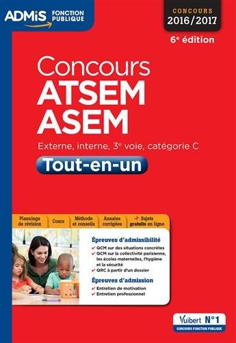 Concours ATSEM et ASEM - Tout-en-un - Catégorie C - Concours 2016-2017