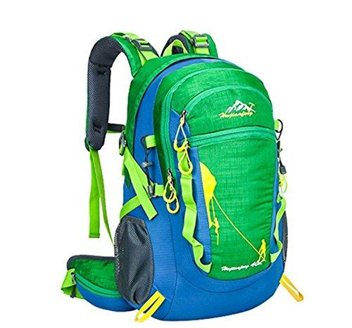 2016 neue meistverkauften outdoor Bergsteigen Tasche große Kapazität Rucksack Sport Rucksack Halterung Green