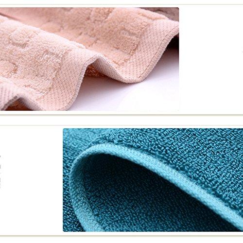 Puro Cotone regalo Coppia Cut Pile Asciugamano ( Colore : Viola ) Viola