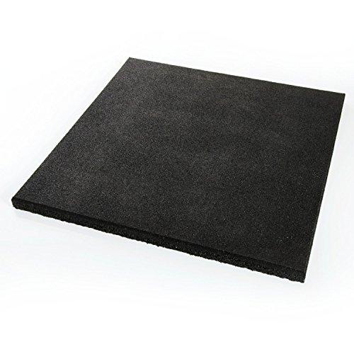 Estera 50x 50x 2,5/4,5cm, varios colores, Placa protectora suelo