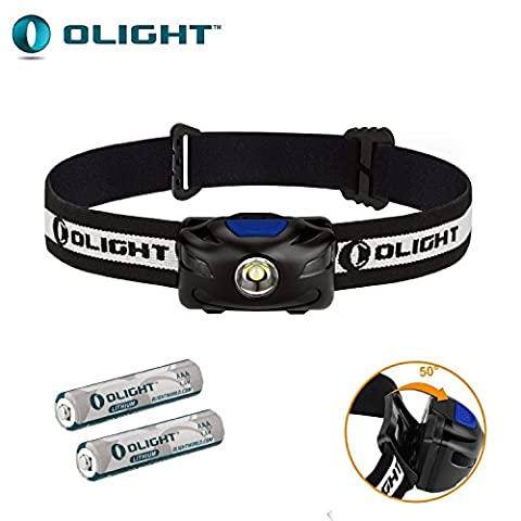Bundle: Olight H05S ACTIVE Cree XM-L2 LED 200 Lumens Headlamp With Lithium Iron AAA batteries by Olight