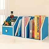 ZMSJ-YJ Bücherregal/Schreibtisch Holz Bücherregal Schüler Kind Einfach Desktop Kleine Bücherregal Lagerregal Büro Kleine Bücherregal Bücherregal (Farbe : 3)