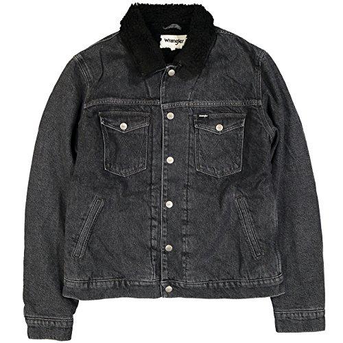 Wrangler Winterjeansjacke schwarz   XL