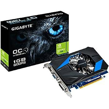 Gigabyte Geforce Gt 730 1 Gb Gddr5 Graphics Cards Black