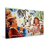 Premium Textil-Leinwand 90 cm x 60 cm quer, Auszug aus dem Weihnachtskatalog von Quelle (1955) | Wandbild, Bild auf Keilrahmen, Fertigbild auf echter Leinwand, Leinwanddruck (CALVENDO Hobbys)