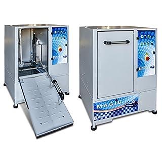 Tecnolux Tyretech Magic Plus Radwaschmaschine, Reifenwaschmaschine mit Hochdruck