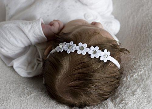 Golden Beam Mädchen Stirnband weiß weiß einheitsgröße