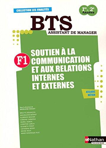 Finalit 1 - Soutien  la communication et aux relations internes et externes