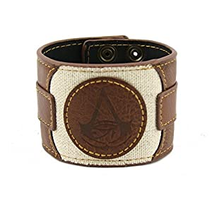 Assassin's Creed Origins – Leder Logo – Armband | Merchandise | Ubisoft