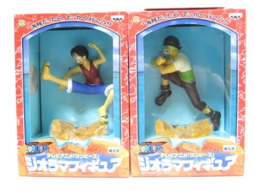 Two TV anime one piece not for sale diorama figure prefabricated Banpresto (japan import)