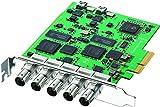 Blackmagic Design DeckLink Duo - Tarjeta y adaptador de interfaz (PCIe)