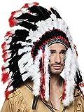 Boland 44139 Haarschmuck Indianer Apache, Unisex-Erwachsene, One Size