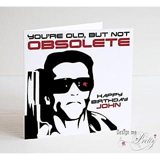 The Terminator Birthday Card