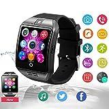 Smartwatch Bluetooth Touchscreen Armbanduhr Handy-Uhr Mit SIM / TF Card Slot / Schrittzähler / SMS / Facebook für Herren Damen Kinder