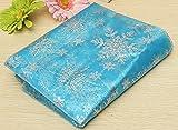 Frozen Elsa Cape Stoff Material–Schneeflocke Glitzer