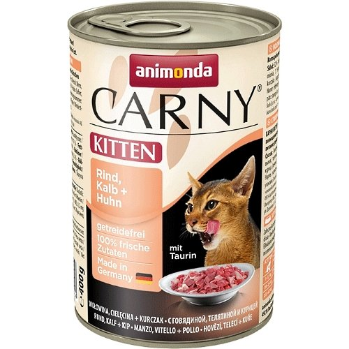 animonda Carny Kitten Rind, Kalb & Huhn 6x400g