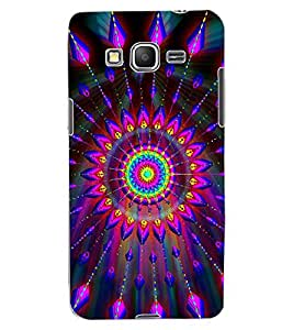 ColourCraft Colourful Pattern Design Back Case Cover for SAMSUNG GALAXY GRAND PRIME DUOS TV G530BT