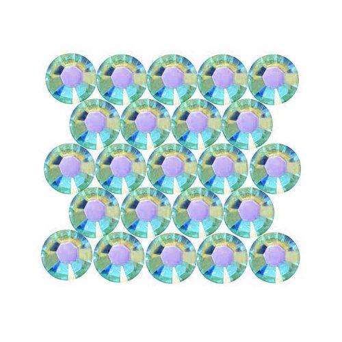 SWAROVSKI ELEMENTS 2028 Strassstein, flache Rückseite, Kristallgröße SS20, Aquamarin, 50 Stück -