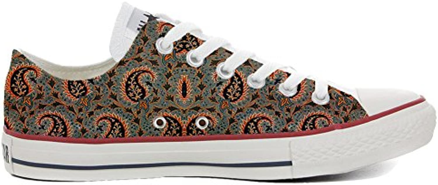 Make Your Shoes Converse All Star Slim Personalisierte Schuhe (Handwerk Produkt) Persian Paisley