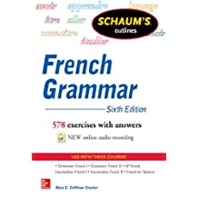 Schaum's Outline of French Grammar (English Edition)