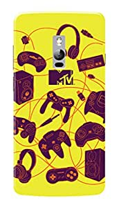 MTV Gone Case Mobile Cover for OnePlus Two