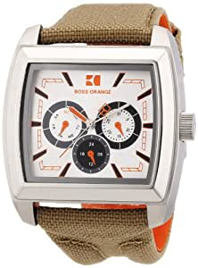 Boss Orange Herren-Armbanduhr Analog Nylon 1512605