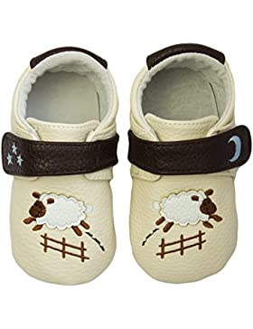 Rose & Chocolat Rcm Goodnight Sheep Cream - Zapatos para Bebes Bebé-Niñas