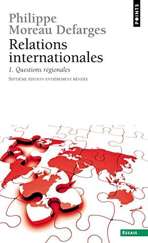 Relations internationales. Questions régionales (1)