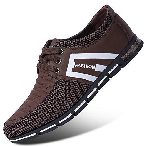Besporter loisirs mocassins chaussures de sport pour homme chaussures en cuir Marron