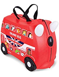 TRUNKI Bagage enfant, rouge (Rouge) - 10117