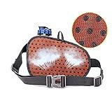 [Sport Hüfttasche] SHOWTIMEZ Hüfttasche Multi-Function Gürteltasche Wasserabweisende Bauchtasche Flache Taille Tasche mit Flaschenhalter zum Sport und Reisen - 2