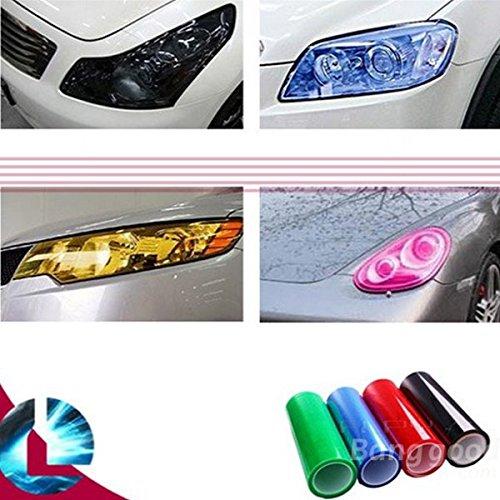 mark8shop Auto DIY Aufkleber Nebel Xenon Licht Scheinwerfer Tönung Vinyl Folie Tabelle