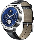 Huawei W1 Stainless Steel Classic Smartwatch with Leather Strap [Energy Class A+++]