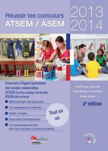 Réussir le concours ATSEM / ASEM 2013-2014