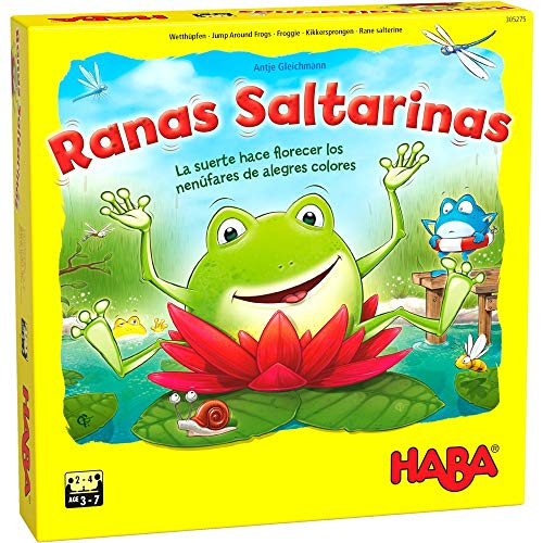 Haba Juego de Mesa Ranas Saltarinas-ESP