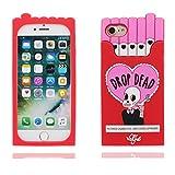 """Coque iPhone 7 Plus Cover Cartoon Animal Design Gel en caoutchouc TPU silicone en forme -3D Boîte à cigarettes Crâne Nouveau, iPhone 7 Plus Étui 5.5"""", iPhone 7 Plus Case Shock Poof"""