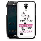 DeinDesign Samsung Galaxy S4 Mini Hülle Case Handyhülle Einhorn Unicorn Sprüche Mädchen