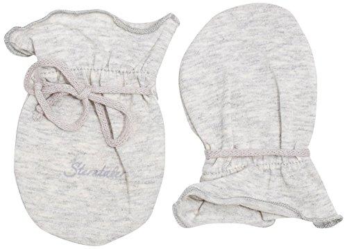 Sterntaler Kratzfäustel Jersey für Babys, Alter: 0-6 Monate, Größe: 0, Silber
