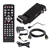 DVB-T/T2 SET: Opticum HD AX Lion Air 2 HEVC DVB-T/T2 Receiver + HDMI Kabel mit Ethernet Funktion und vergoldeten Anschlüssen (Full HD, HEVC/H.265, HDTV, HDMI, SCART, USB 2.0 DVBT DVBT2 DVB-T2)