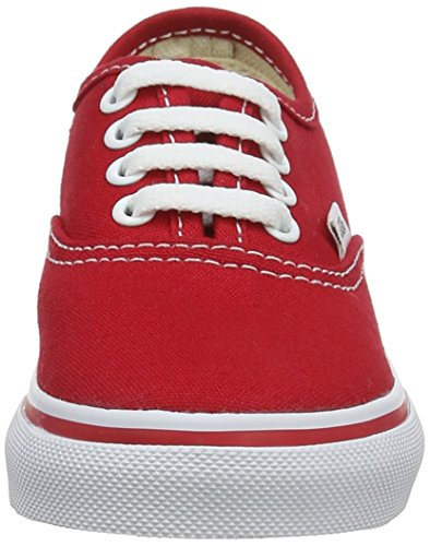 Vans - Authentic, - Bambina Rosso (Red)