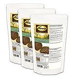 Dr. Almond VEGANE Paleo Eiweißbrot Backmischung SCHWARZBROT Brotbackmischung glutenfrei sojafrei vegan (3er Pack)