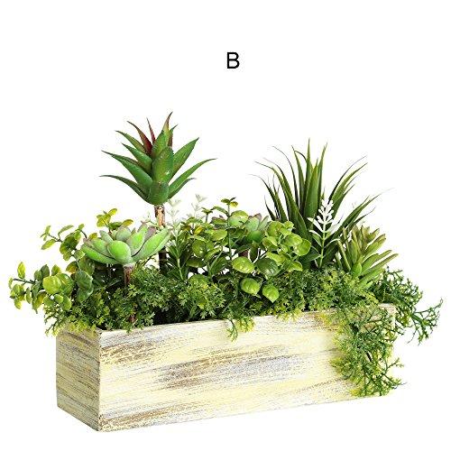 Pot de PVC pour le jardin. 2 modèles