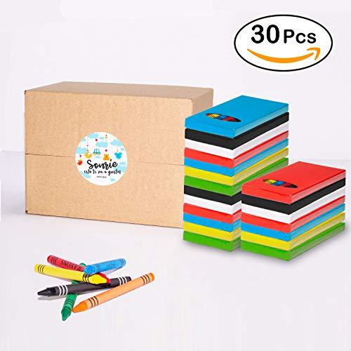 MegaPack de 30 Sets de Ceras para Colorear | Regalo Divertido para...