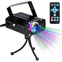 Disco Party Lights KingTop DJ Stage Led Strobe Lights with Remote Control Sound Activated Color Rotating for Home Birthday Karaoke DJ Parties Sensory Relaxation Night Lighting
