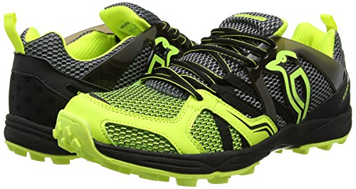 Kookaburra fusibile shoe Steel hockey scarpe, unisex, Fuse Shoe Steel, Grey/Lime, Misura 4 Grey/Lime