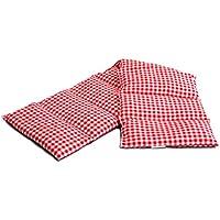 Kirschkernkissen 75x20cm groß 8-Kammer rot-weiß; Wärmekissen, Körnerkissen preisvergleich bei billige-tabletten.eu