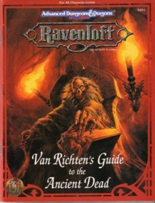 Van Richten's Guide to Ancient Dead (Advanced Dungeons & Dragons, 2nd Edition) by Bruce Nesmith (1994-07-06) par Bruce Nesmith