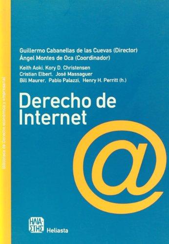 Derecho De Internet (Biblioteca de Derecho Economico y Empresarial)