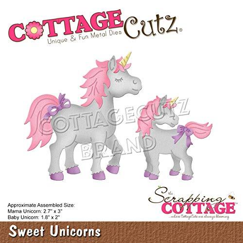 Cottage Cutz Dies-Sweet Unicorns 1.8